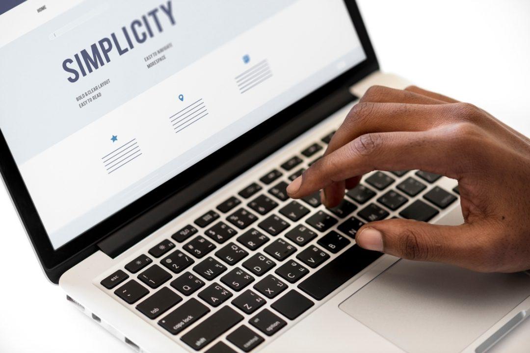 Online presence management: simplicity