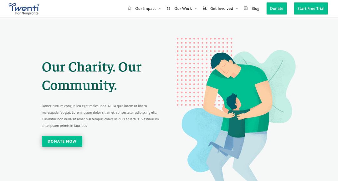 Nonprofit Website Template