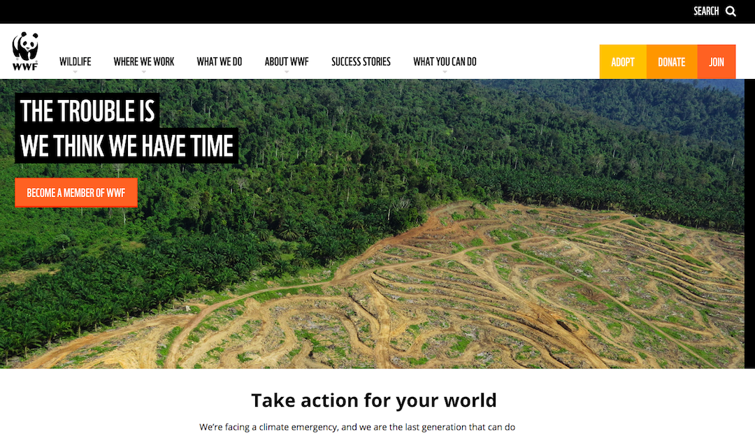 WWF Website