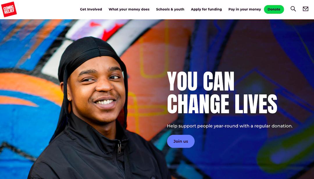 Comic Relief Website