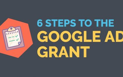 6 Steps To The Google Ad Grants