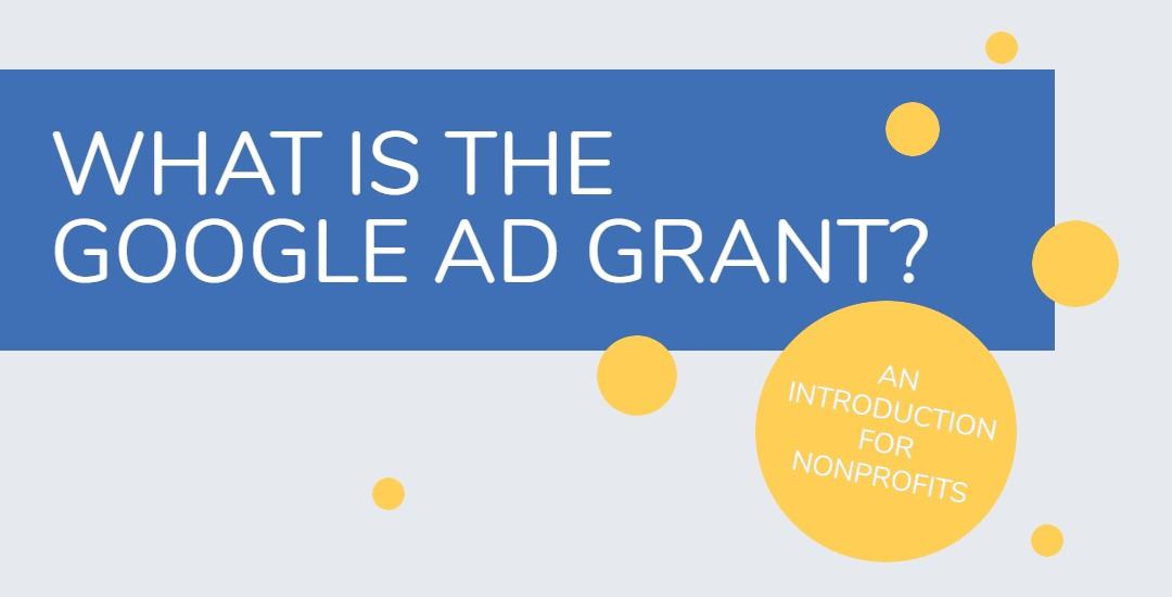 Ad Grant Intro banner
